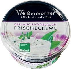 Roomkaas knoflook-daslook Weissenhorner 150 gram