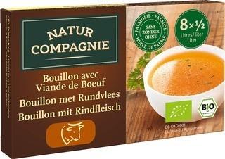 bouillon blokjes rund Natur Compagnie 96 gram