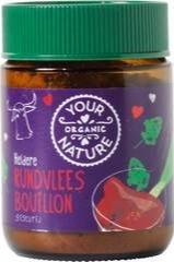 Runderbouillon poeder gistvrij Your Organic Nature 140 gram