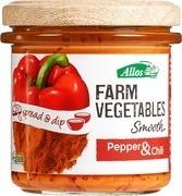 sandwichspread Allos  Pepper & Chili 140 gram