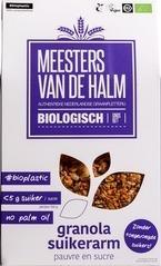 Suikerarme granola Meesters van de Halm 350 gram