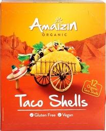 Taco schelpen 12 st Amaizin