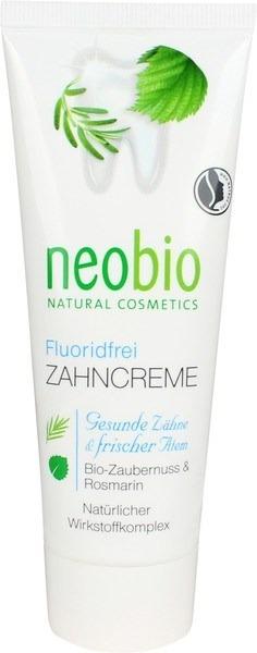 Tandpasta fluoridevrij Neobio 75 ml