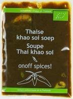 Thaise khao soi soep
