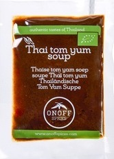 Thaise tom yam soep onoff spices! 50 gram
