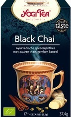 Thee Black chai, Yogi Tea 17 builtje