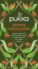 Thee Ginseng matcha green, Pukka 20 builtje