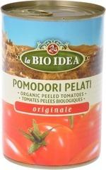 Tomaten gepeld in blik La Bio Idea 400 gram