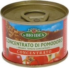Tomaten puree in blik La Bio Idea 70 gram