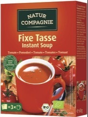 Tomatensoep 1-kops instant Natur Compagnie 60 gram