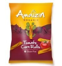 Amaizin Organic Tomato corn rolls