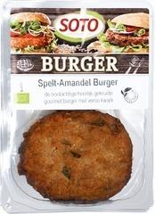 Vegetarisch Spelt-amandel burger, Soto 200 gram