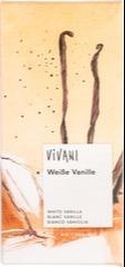 Witte chocolade - vanille Vivani 80 gram