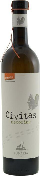 Witte wijn Lunaria Civitas Pecorino