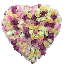 Heart of pastel