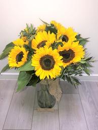 Boeket sunflowers