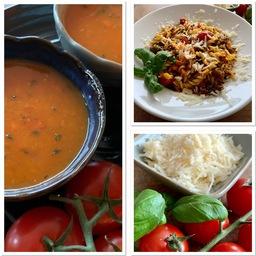 D # Donderdag - Tomatensoep en pasta
