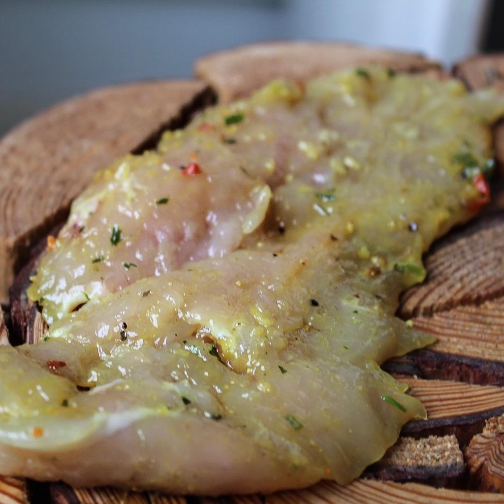 Gemarineerde kipschnitzel