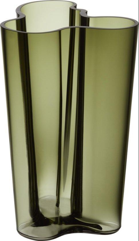 Alvar Aalto vaas mosgroen 251cm iittala
