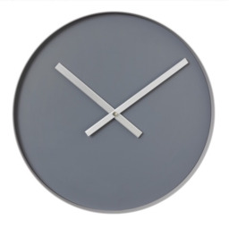 Blomus Rim wandklok ø 40cm - steel gray