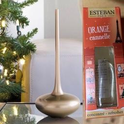 Esteban mist diffuser platinum met limited kerstgeur 🎄