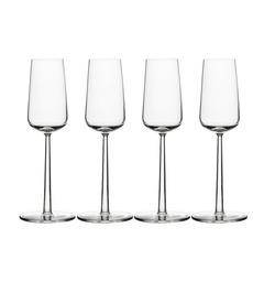 IIttala Essence champagneglas set van 4  Nu 6 = 4 bij aankoop van 4 glazen 2 glazen kado.