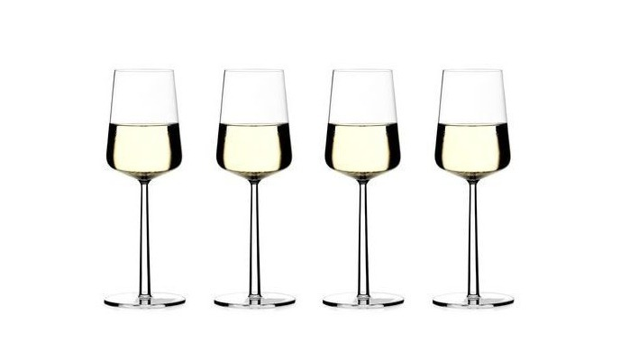 IIttala Essence witte wijn glazen set van 4 Nu 6 = 4 bij aankoop van 4 glazen 2 kado