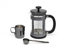 koffieset Vicenza shiny black