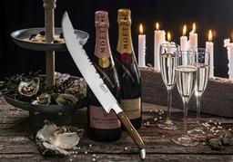 Laguiole champagne sabel olijfhout