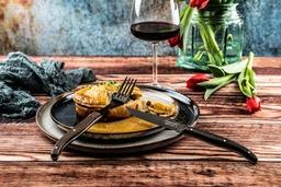 Laguiole Luxury Line Steakvorken Wengé Zwart