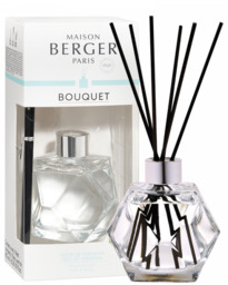 Lampe Berger Parfumverspreider Geometry Transparente & Zeste de Verveine