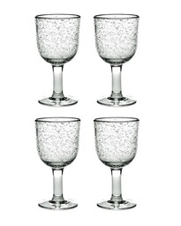 Serax Pure Rode Wijnglas 0,2 L - 4 st Pascale Naessens