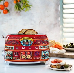 Smeg Dolce & Gabbana Sicily is my love broodrooster