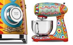 Smeg Dolce & Gabbana Sicily is my love keukenmachine