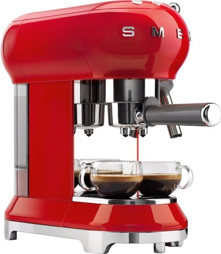 Smeg Espresso machine Rood