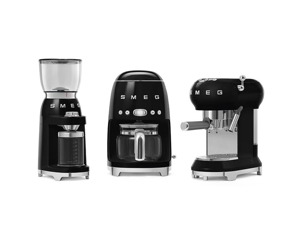 Smeg koffiebonen maler  zwart