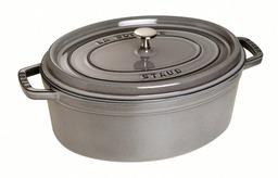 Staub braadpan grijs 31cm van € 279,00 nu € 215,00