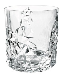 Whiskey glas sculpture set van 4 stuks