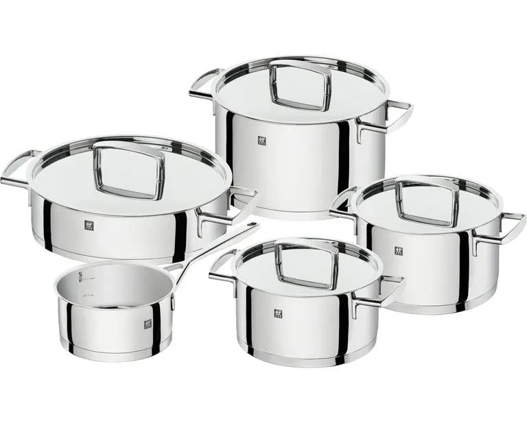 Zwilling passion 5 delige pannenset