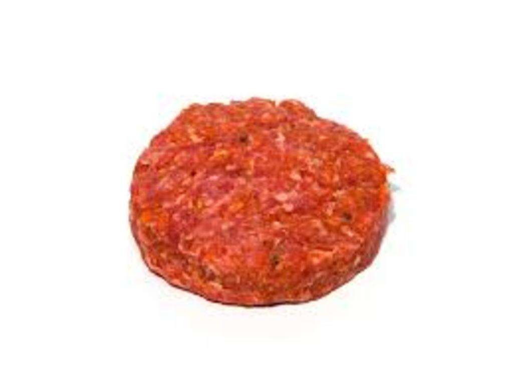 Hamburger voor op de barbecue