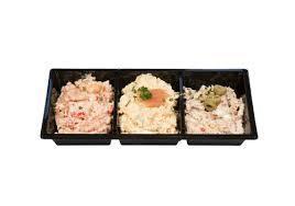 Salade trio - huisgemaakt