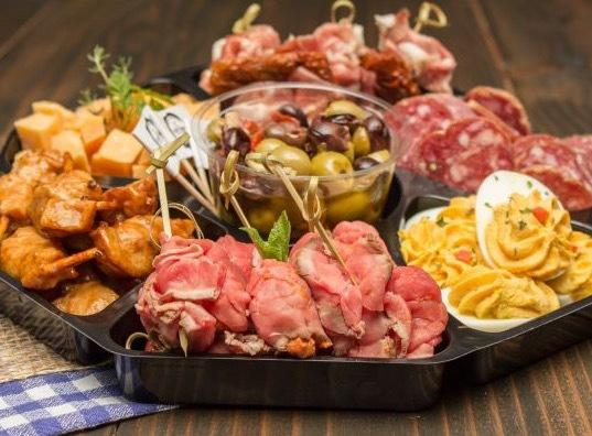 Snackschaal de Luxe
