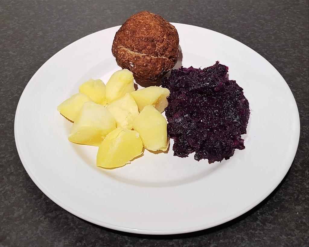 Groente, aardappels & vlees