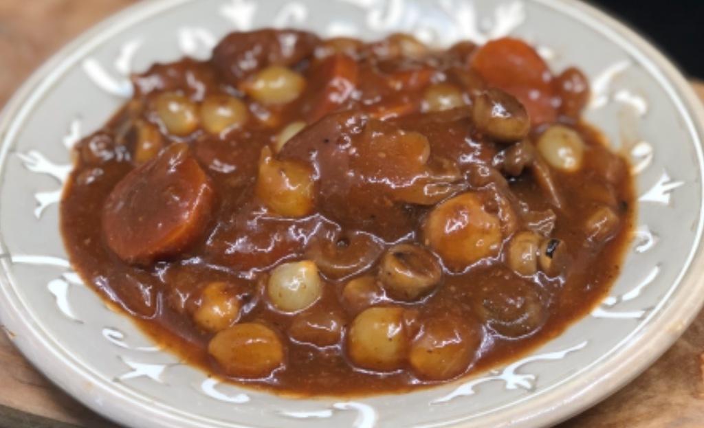 Hazenpeper met een robuuste saus