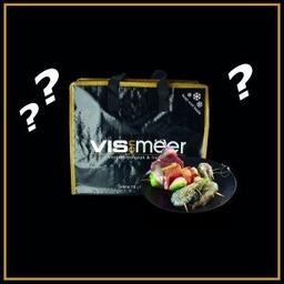 BBQ tas Vis en Meer met extra zak scampi's 16/20