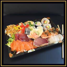 Sushi/sashimi schaal p.p.