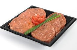 Gourmet mini hamburgers